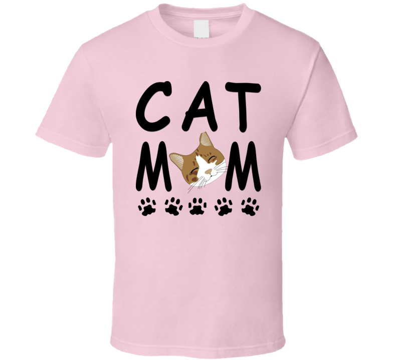Cat Mom T Shirt