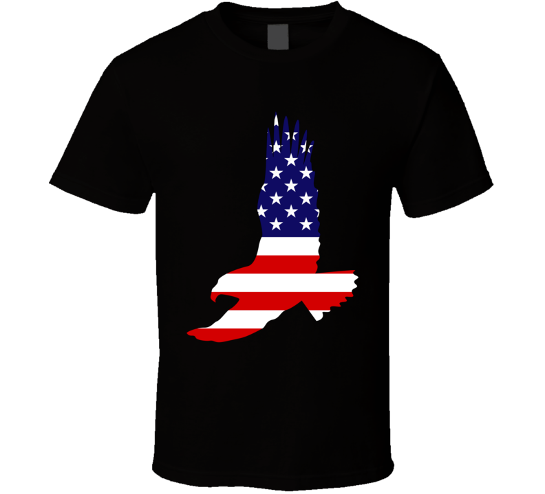 American Flag Eagle V.1 T Shirt