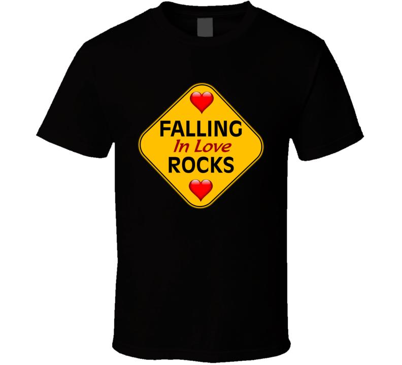 Falling In Love Rocks V.1 T Shirt