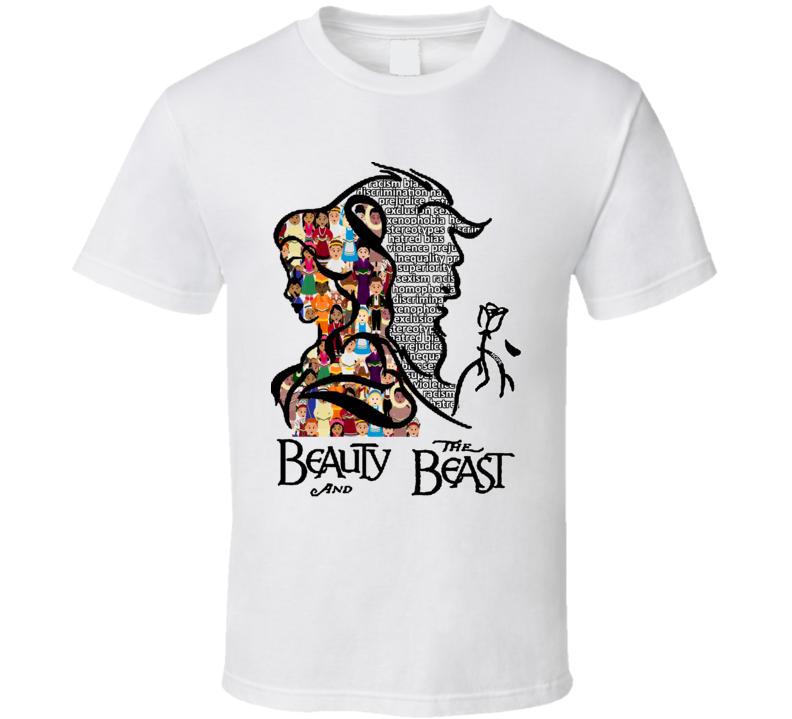 Beauty and the Beast Anti Trump T Shirt