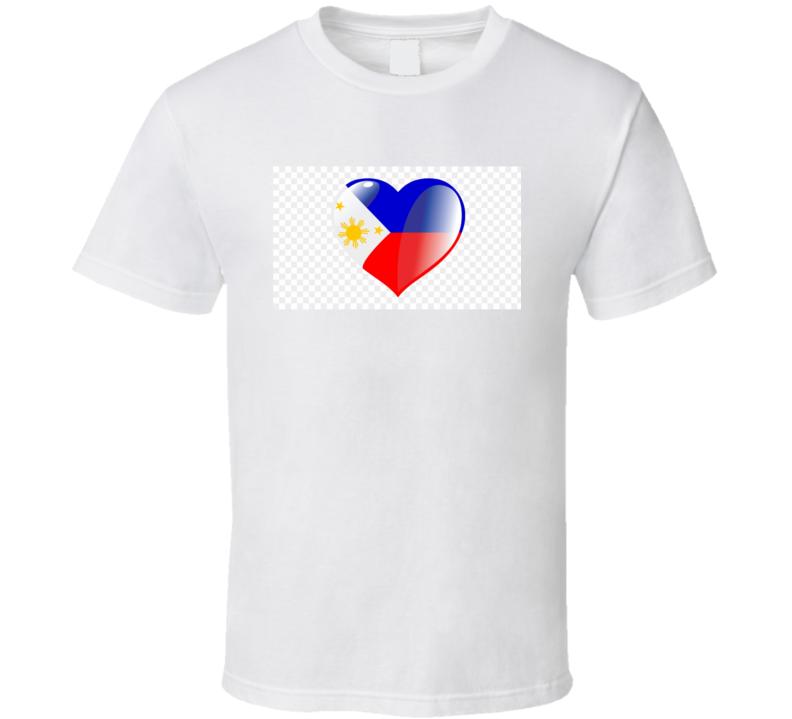 Filipino Flag T Shirt