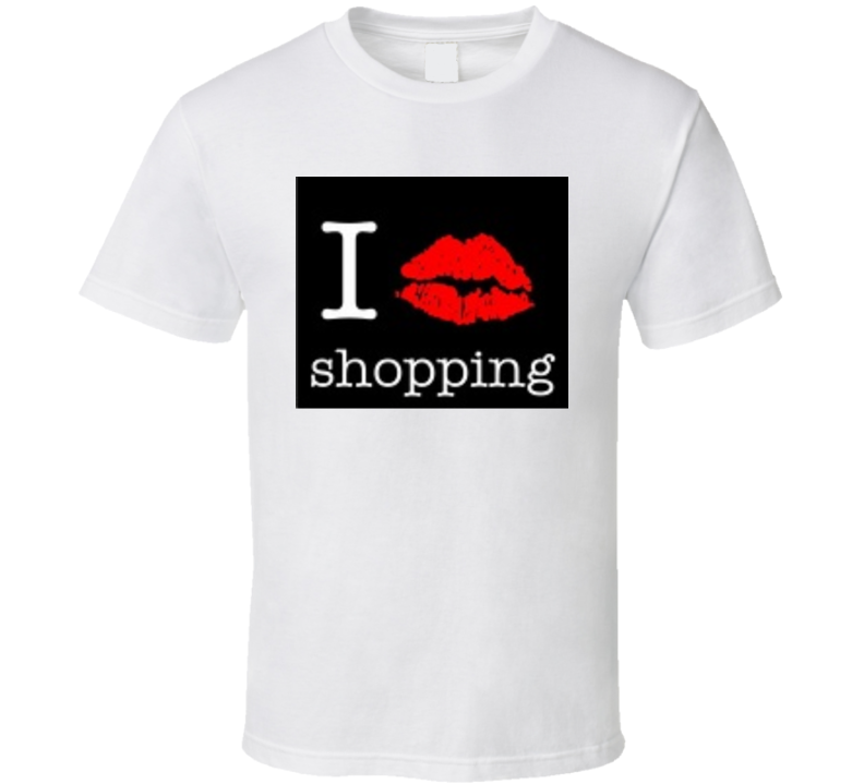 I Love Shopping T Shirt