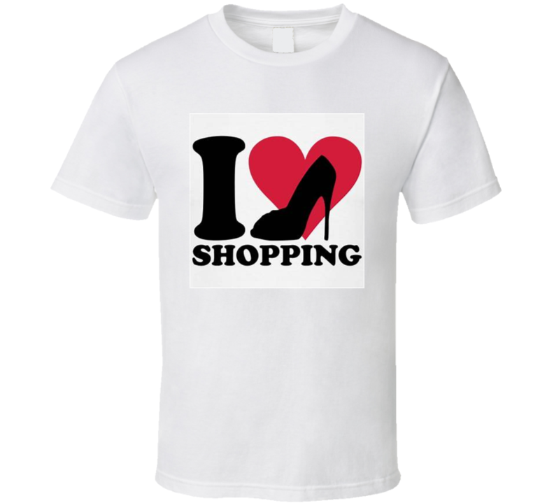 I Love Shopping #2 T Shirt