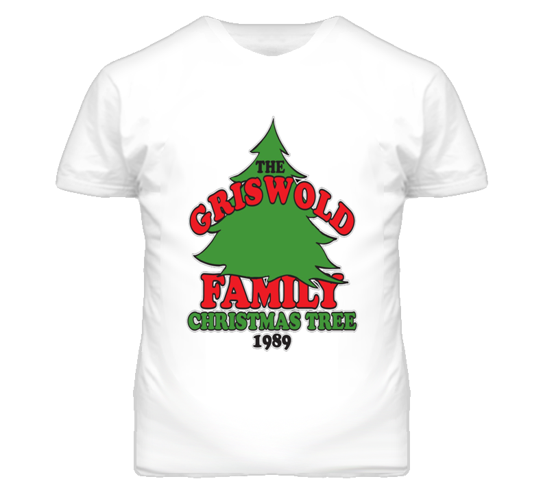 Family Vacation Griswold Family Christmas Tree T Shirt