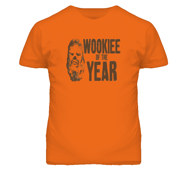 Wookie Of The Year Funny T Shirt