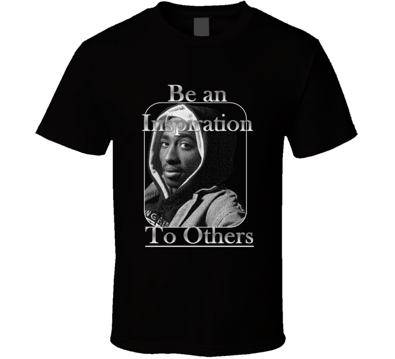 2Pac Inspiration Design T-Shirt