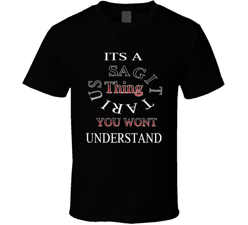 Sagittarius Birthday T Shirt