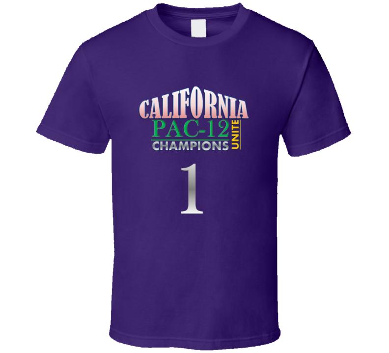 California Pac 12 Champions T Shirt