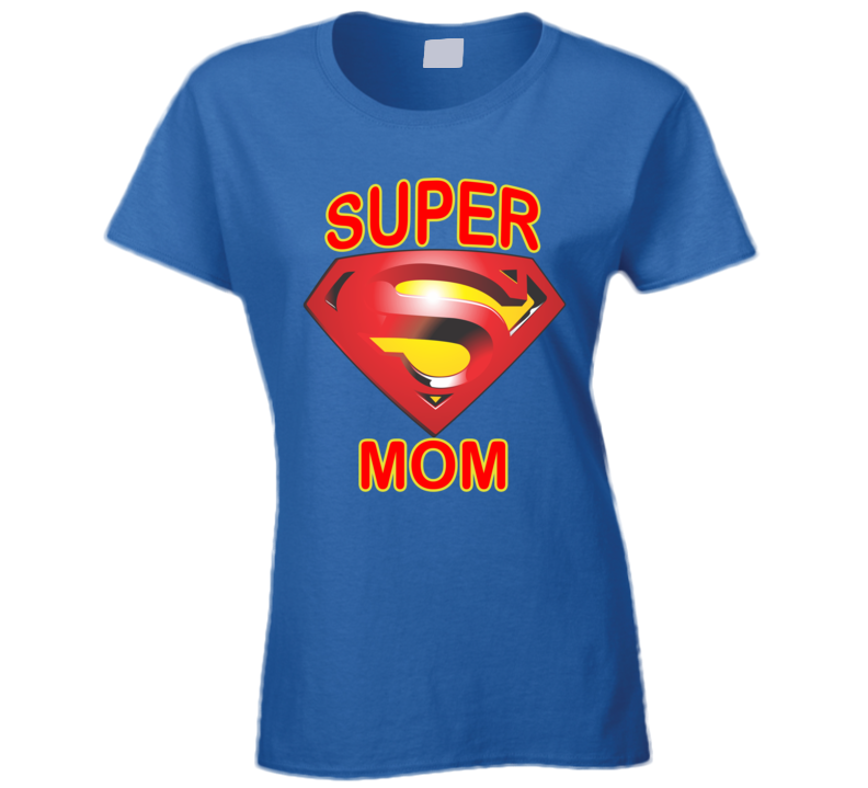 Super Mom Mothers Day Family T Shirt