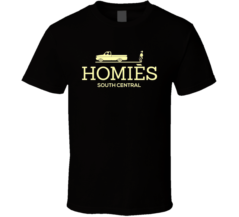 Homies South Central Miley Cyrus Rihanna Quoted Slogan T-Shirt