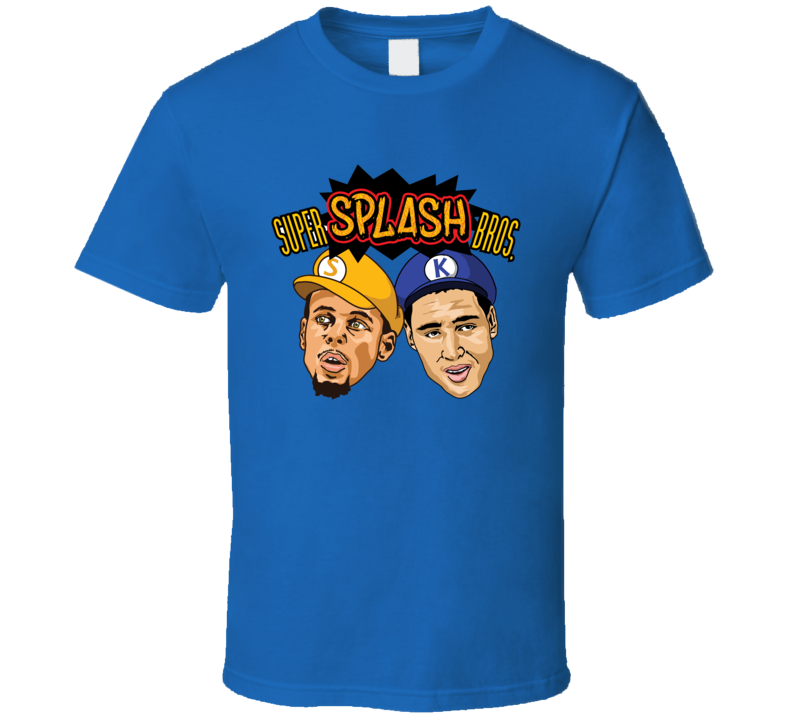 Stephen Curry Klay Thompson Super Splash Brothers Funny T Shirt