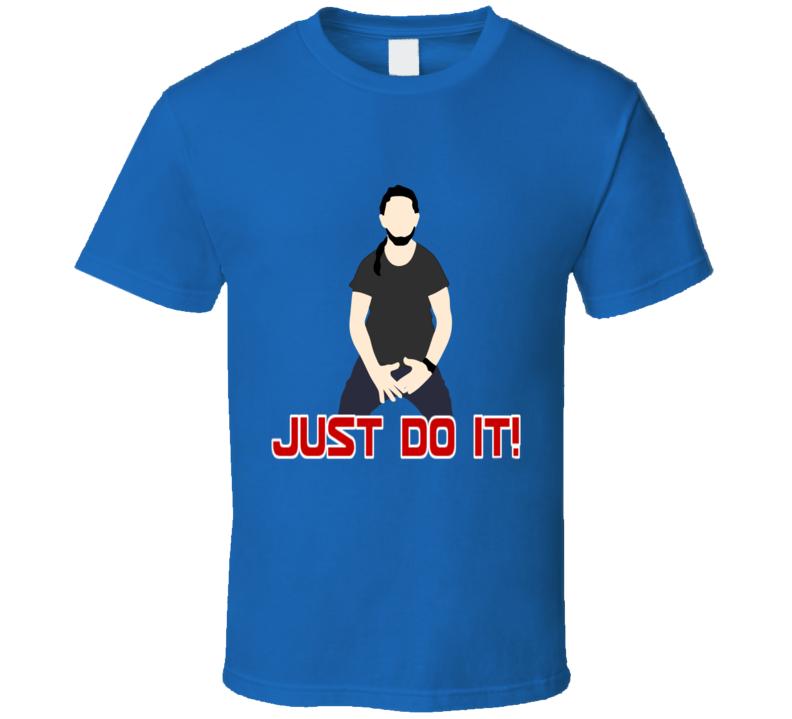 Shia LaBeouf Just Do It  Celebrity Fashion T Shirt