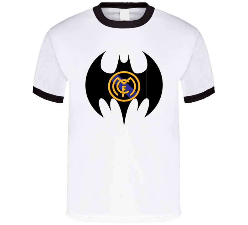 Real Madrid Football Club Batman Logo Super Hero T Shirt