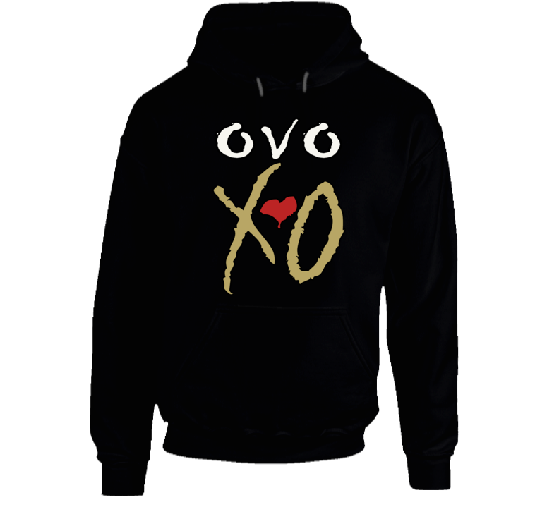 XO The Weekend Graphic Pullover Hoodie