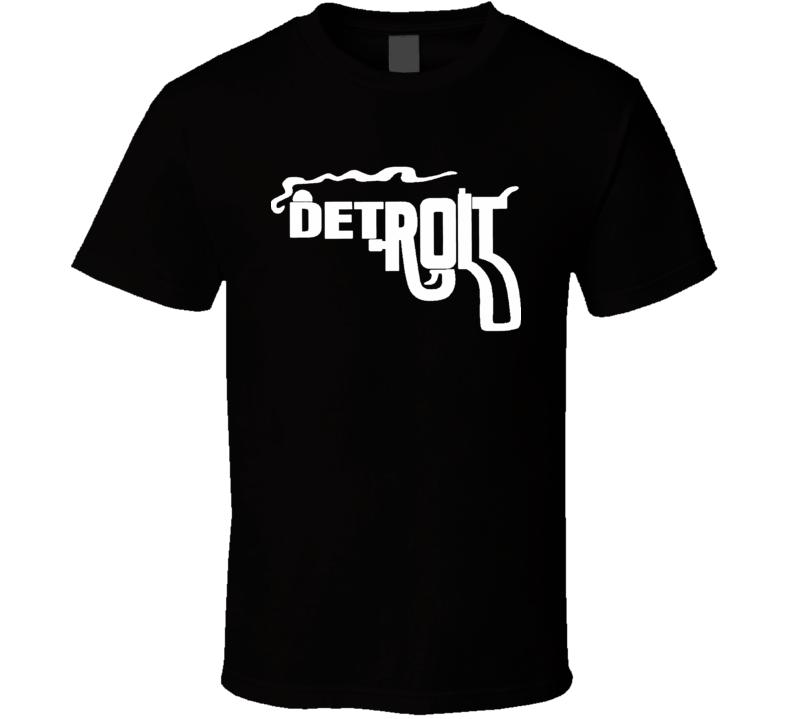 Detroit Smoking Gun Text Philadelphia Always Sunny T Shirt