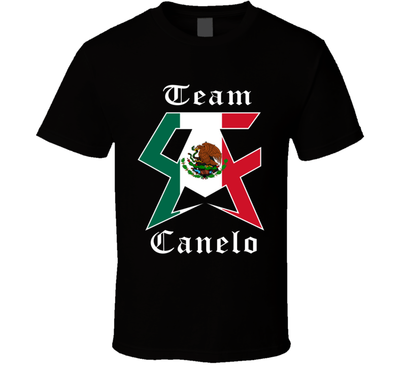 Team Saul Canelo Alvarez Boxing Jalisco Mexico Born T shirt