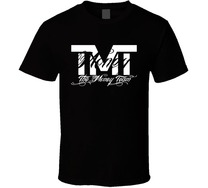The Money Team Floyd Money Mayweather Jr TMT Boxing Tee Shirt