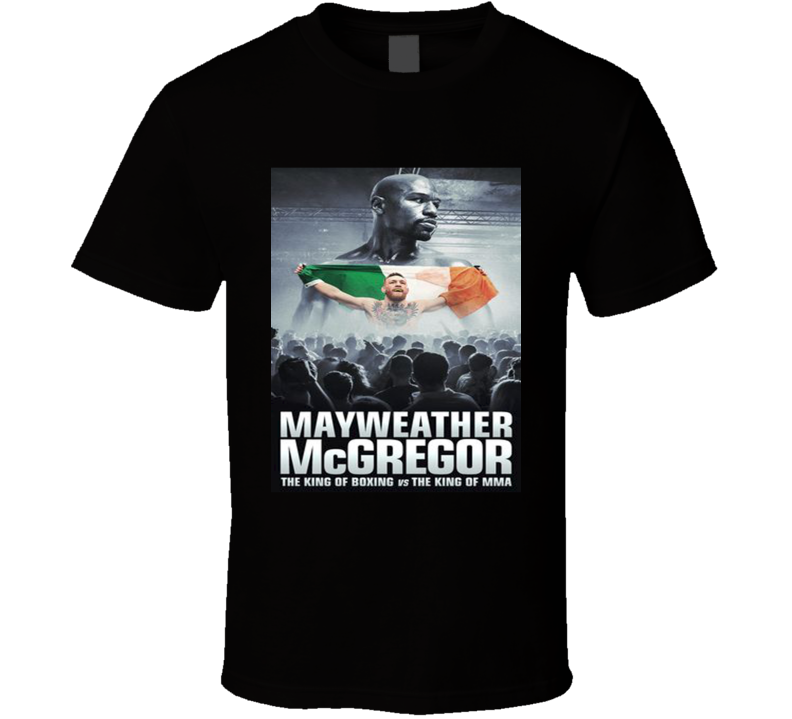 Floyd Mayweather Conor Vs McGregor Boxing UFC MMA Notorious Fight T Shirt