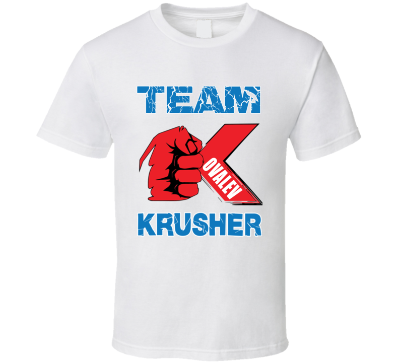 Team Sergey Kovalev Krusher Boxing T Shirt
