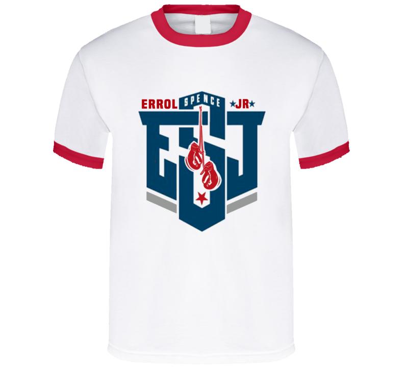 Team Errol Spence Jr  ESJ American Boxer Graphic T Shirt