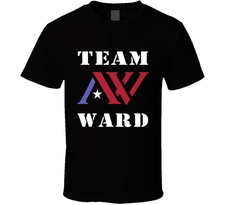 Team Andre Ward AW Logo Boxing T Shirt