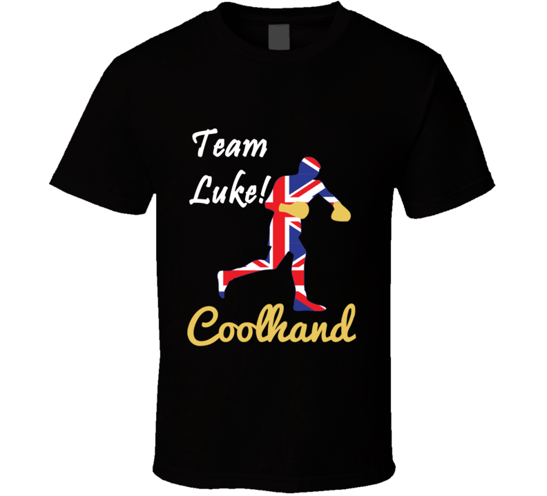 Team Luke Campbell Coolhand Boxer T Shirt