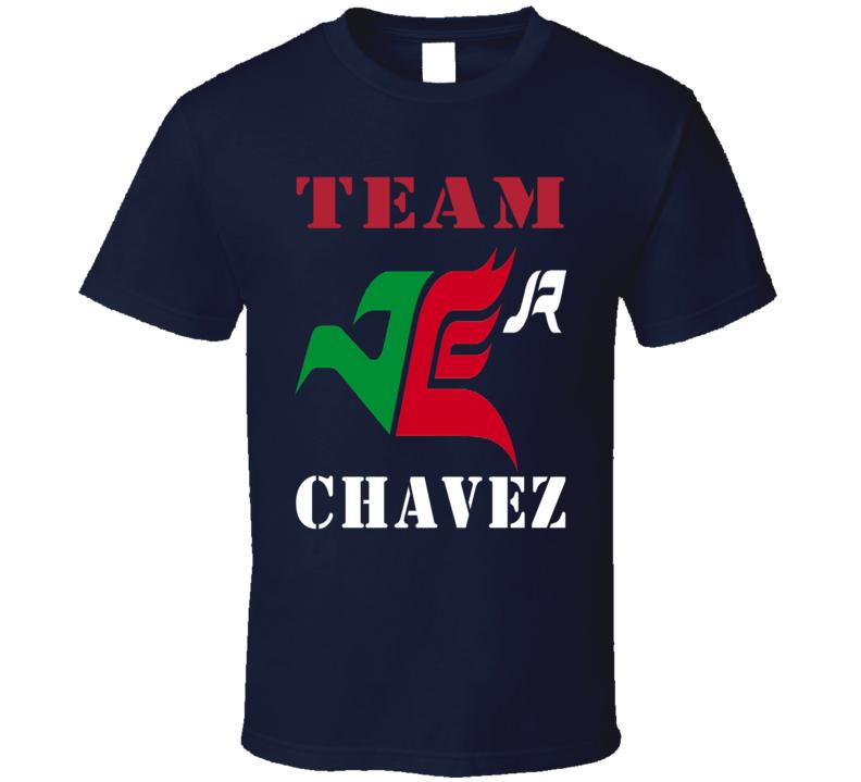 Team Chavez Julio Cesar Chavez Boxing Fans T Shirt