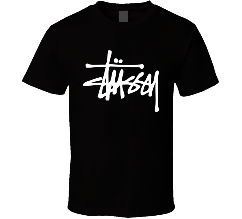 Shawn Stussy 80's Streetwear Logo Tee Custom Surfboard Signature T Shirt
