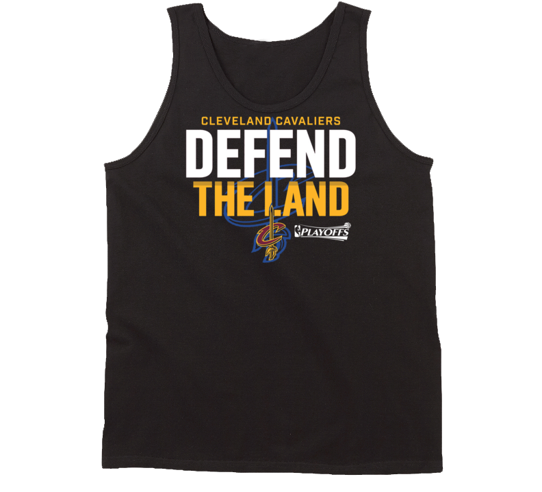 Cleveland Cavaliers Defend The Land Graphic Tee Playoffs Casual Fanatics Tanktop
