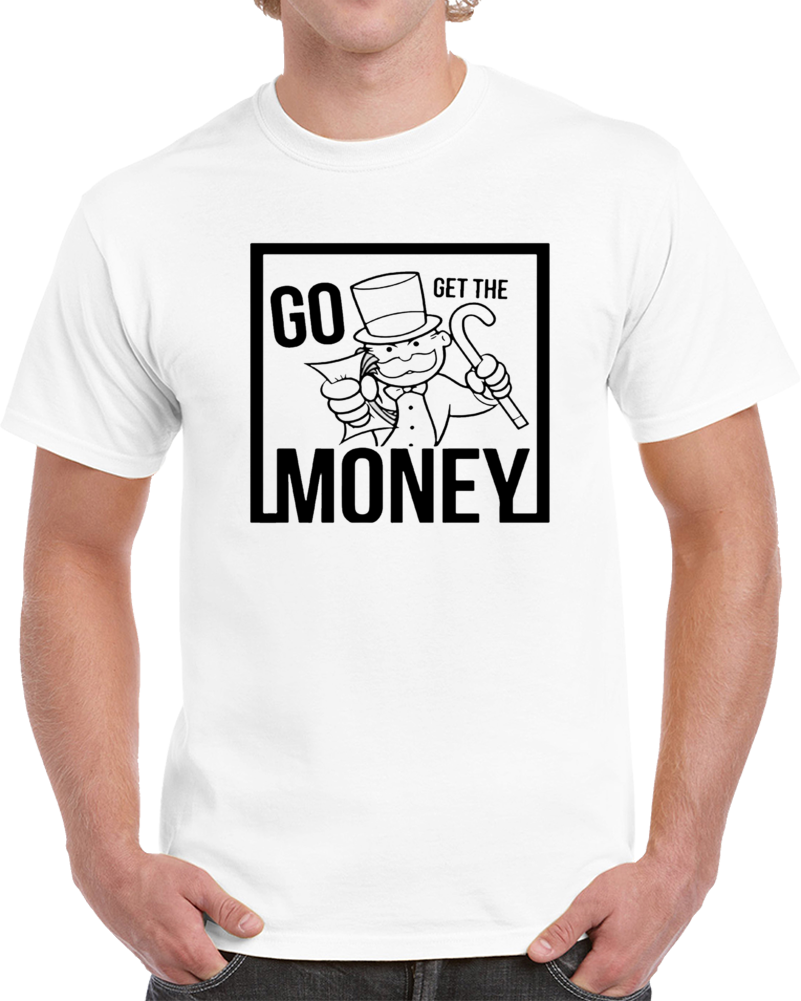Young Monopoly Man Dolph Go Get The Money T Shirt