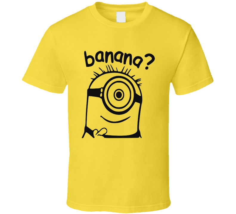 Despicable Me 3 Minions Banana Funny Party T Shirt