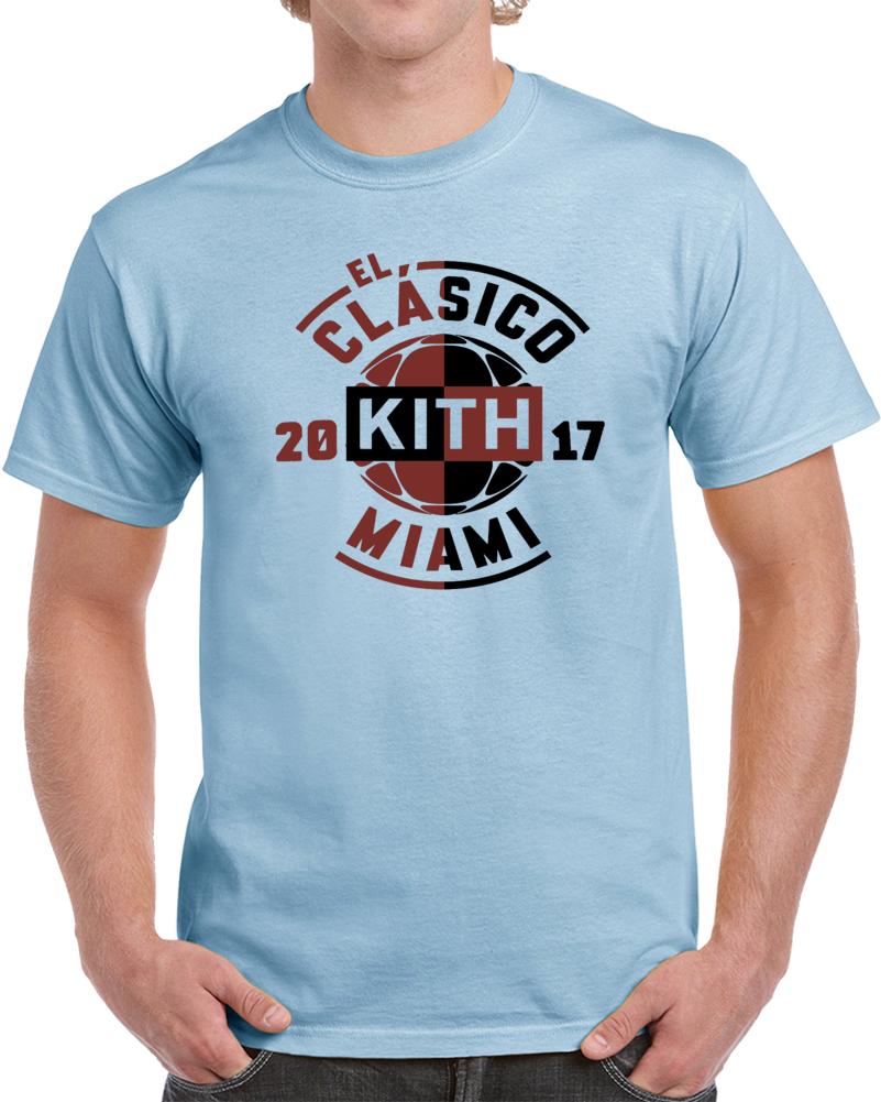 Kith X El Clasico 2017 Miami Real Madrid  Fc Barcelona T Shirt