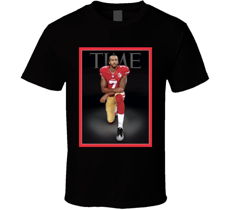 Colin Kaepernick United We Stand Time Magazine Cover T Shirt