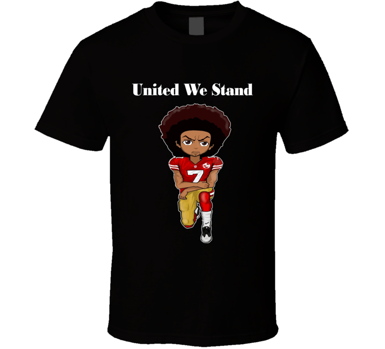 Colin Kaepernick United We Stand Perilous Protest Fight Rally Resistance Kneeling T Shirt