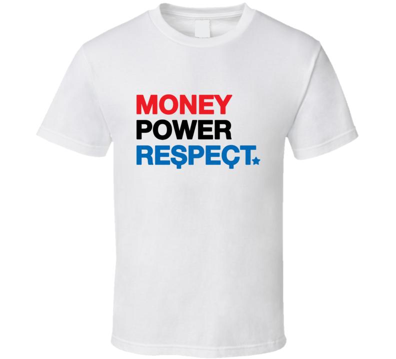 Floyd Mayweather Money Power Respect T Shirt