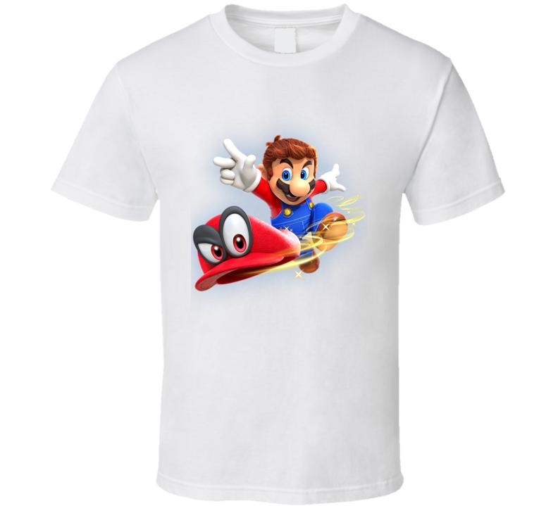 Super Mario Odyssey 2017 Game T Shirt