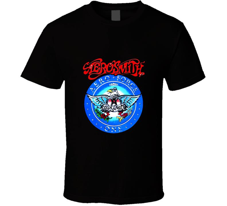 Garth's Aerosmith Aero Force One Wayne T Shirt