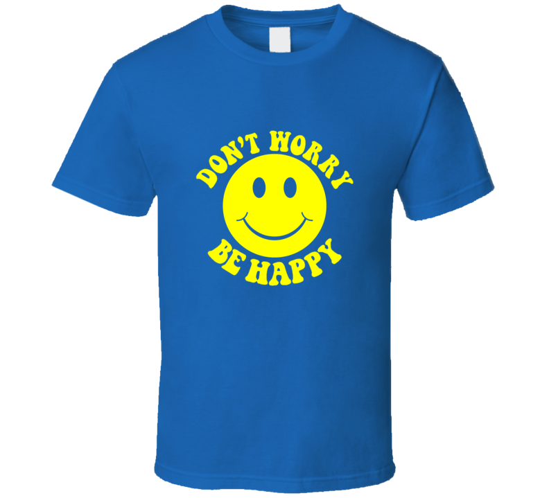 Bobby Mcferrin Dont Worry Be Happy Vintage T Shirt