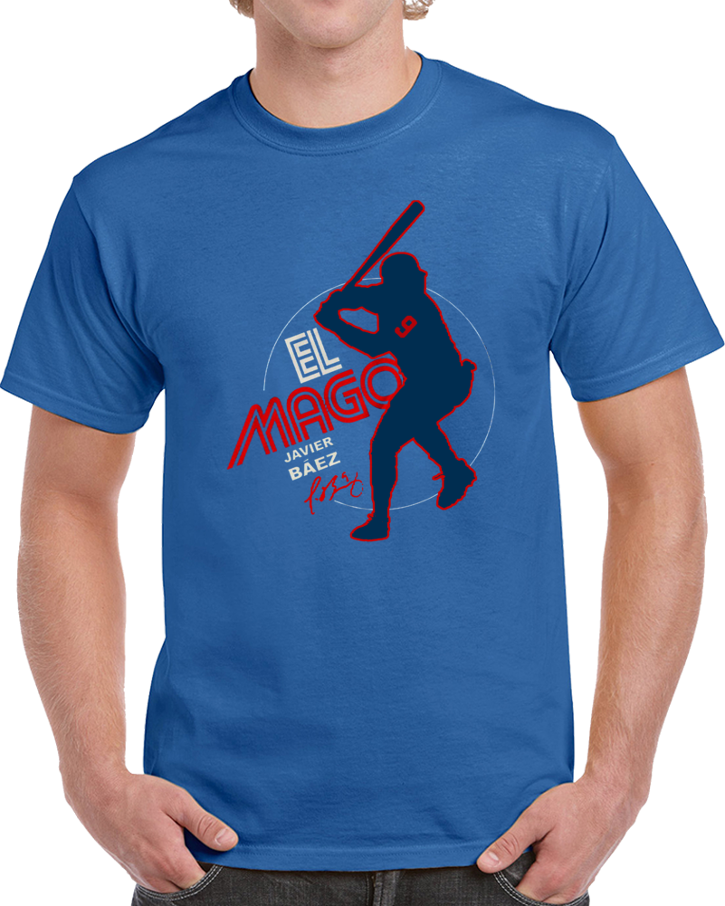 on sale 45aeb dd4f9 Javy Baez El Mago Charity T Shirt