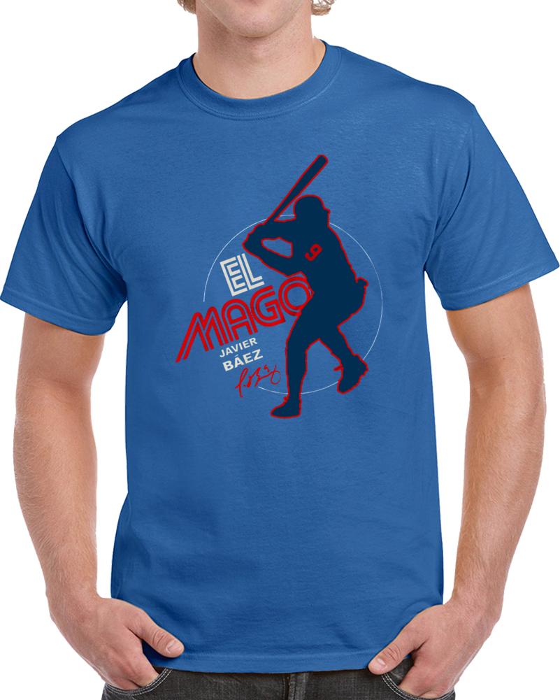 on sale 312d3 1e5e1 Javy Baez El Mago Charity T Shirt