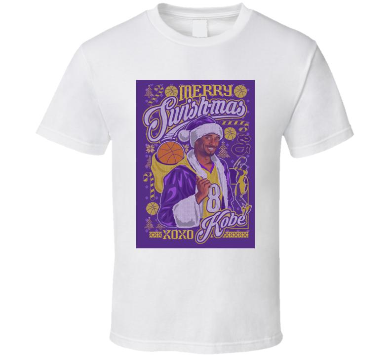 Kobe Bryant Merry Swishmas Xoxo T Shirt