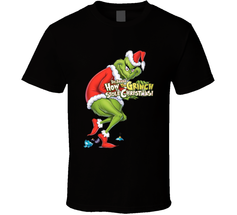 Dr Seuss How The Grinch Stole Christmas Funny Holiday T Shirt