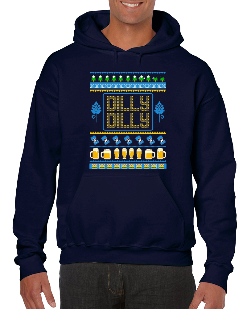 Dilly Dilly Beer Christmas Sweater Design Gift Pullover Hoodie