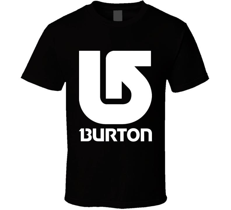 Burton Snowboard Vertical Logo T Shirt