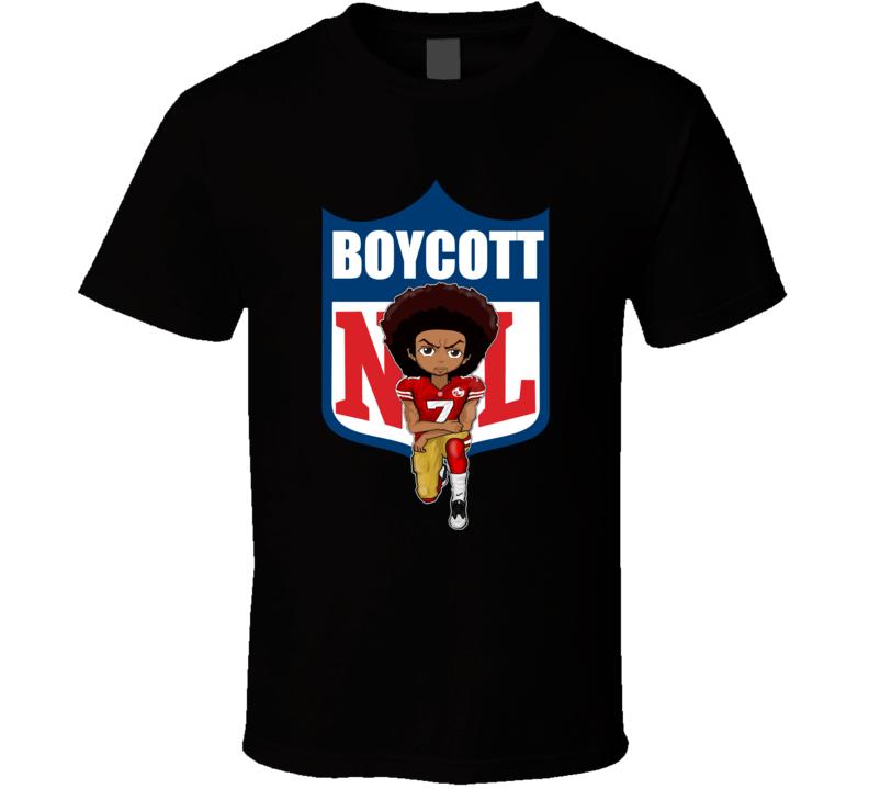 Colin Kaepernick Boycott Kneeling Petition T Shirt