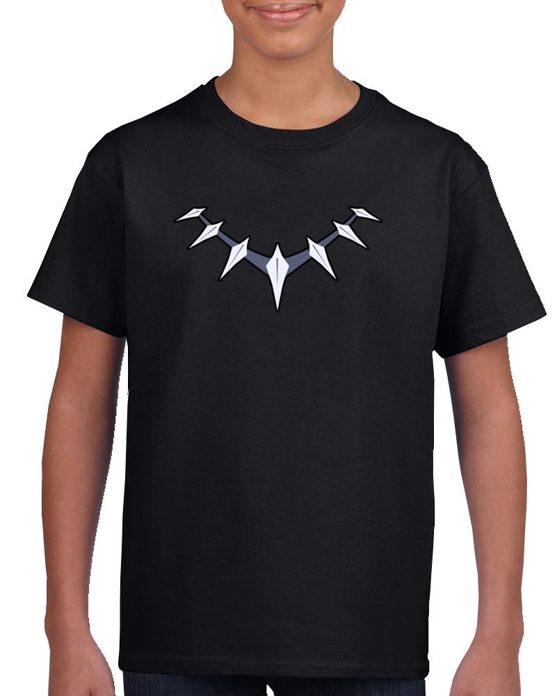 Black Panther Necklace Chain Unisex T Shirt