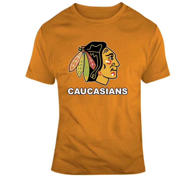 Chicago Caucasians Em4shirts Funny Parody T Shirt