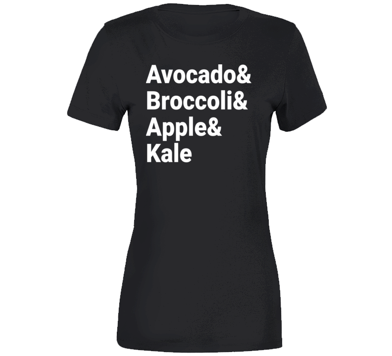 Avocado and Broccoli and Apple and Kale Em4shirts T Shirt