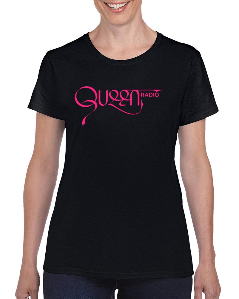 Em4shirts Queen Radio T Shirt