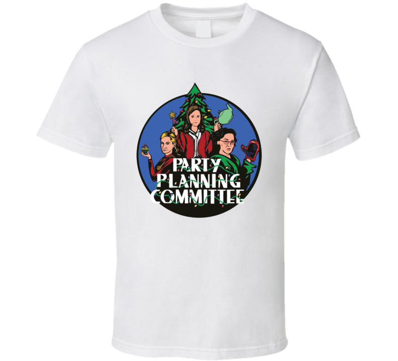 Party Planning Committee Christmas Charity T Shirt